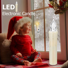 Candle Battery-Powered Decoratio No-Flame-Application Birthday-Party Wedding Christmas