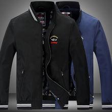 2020 куртка бомбер с акулой мужская Тонкая деловая Повседневная