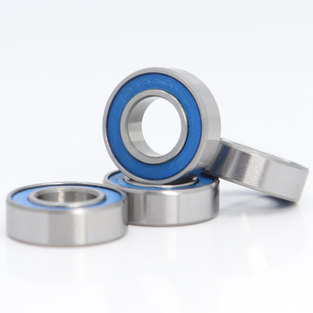 688RS <font><b>Bearing</b></font> 10PCS 8x16x5 mm ABEC-3 Hobby Electric RC Car Truck <font><b>688</b></font> RS <font><b>2RS</b></font> Ball <font><b>Bearings</b></font> <font><b>688</b></font>-<font><b>2RS</b></font> Blue Sealed image