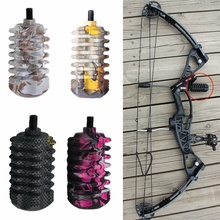 Compound Bow Stabilizer 5 Color Bow Stabilizer Rubber Length 3.5 Inches Bow Accessory for Bow and Arrow Hunting Archery compound bow stabilizer 5 color mini bow stabilizer by rubber length 3 5 inches bow accessory for archery shooting hunting
