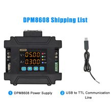 цена на DPM8608 Programmable Remote Control Power Supply Communication Constant Voltage Current DC-DC Step-down 0-60V 0-8A