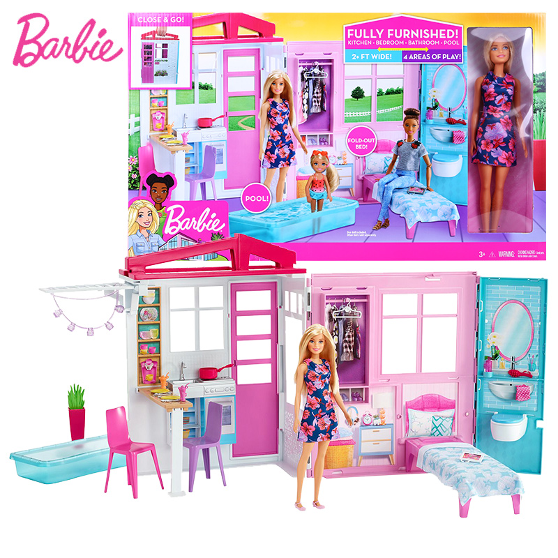 Barbie Kitchen Set Doll Cheap Online