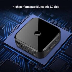 Image 5 - Bluetooth 5.0 hdオーディオ送信機は、 3.5 ミリメートルaux spdifデジタルテレビワイヤレスアダプタ