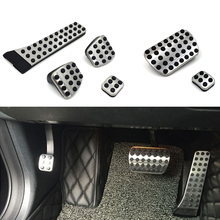 For Mercedes Benz AMG C E S GLC GLK SLK CLS SL Class W203 W222 W213 W205 W204 W211 W212 W210 X204 W218 Car Pedal Accessories cheap CARMONSONS 0inch Metal Pedals 0 2kg