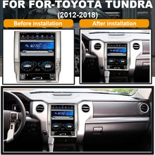 Android 12,1 zoll auto GPS Radio für-TOYOTA Tundra 2012-2018 auto GPS navigation multimedia player(China)