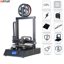 Ortur Ortur 4 v2 Linear Rail Guide DIY 3D Printer Kit Cheap Price All Metal Solid Heavy Duty FDM DIY Imprimante 3d Made in China