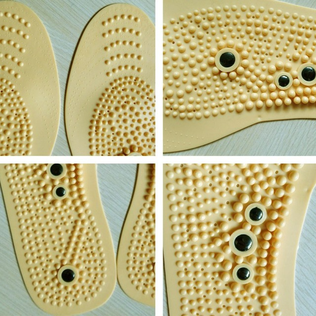 2020 Men Women Magnetic Therapy Insole Anti-fatigue Transparent Silicone Health Care Tools Massage Insoles Shoes Accessories 5