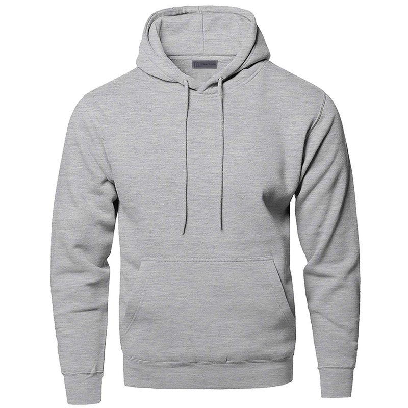 Solid Color Sweatshirts Hoodies Men Sweatshirt Hoodie Gray White Black Dark Blue Red Many Color Hooded Sportswear Streetwear