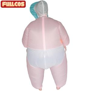 Image 2 - Надувной детский костюм для женщин и мужчин, надувной наряд для взрослых, вечевечерние НКИ, ночи, Хэллоуина, карнавала, косплея, надувной наряд для младенцев