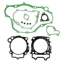 As tampas do cárter do motor da motocicleta incluem junta do cilindro conjunto para yamaha yz450f 2010 2013 yz450 f yz 450f