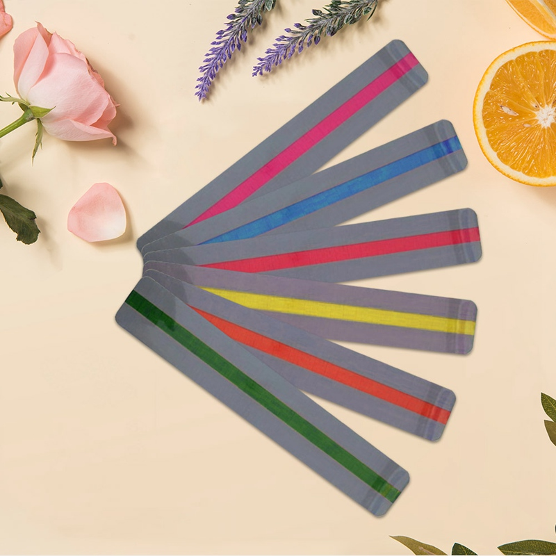 Creative Color Plastic Bookmarks Transparent PVC Bookmarks School Office Stationery Supplies