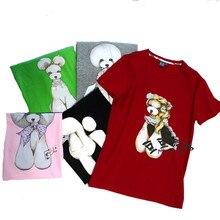 Pet Beautician's Workwear Beauty T-shirt Animal Hospital Workwear Pure Short Sleeves
