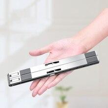 Portable Height Adjustable Laptop Stand New Aluminum Alloy Computer Desk Bathroom Accessori