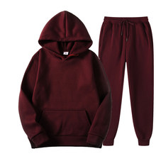 2021 Spring Autumn Women Tracksuit Short Sweatshirts and Sweatpants 2 Piece Set Casual Solid Sports Suit Jogger Workout Clothing