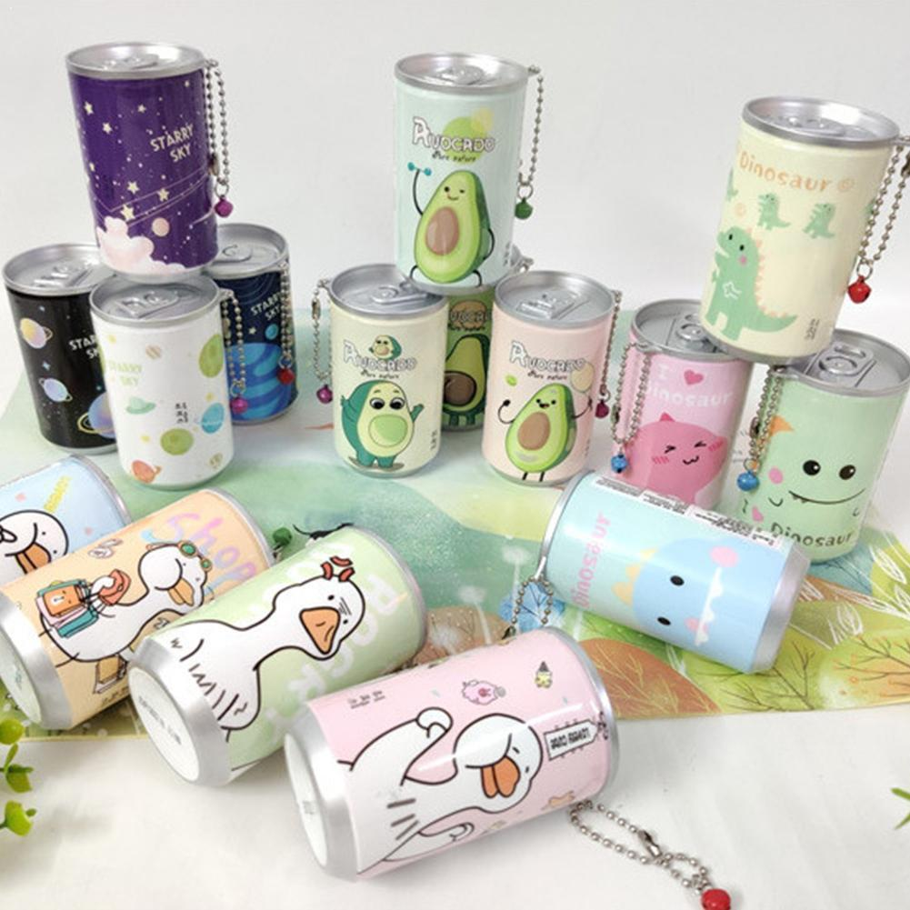 1pc Cute Cans Shape Wet Wipes For Hands Gently Clean Wipes Towel Random 30pcs/bottle Disinfection Portable Wet Color Paper V3S8