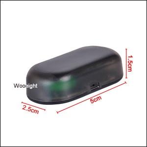 Image 4 - Luz de advertencia de coche antirrobo analógica Solar Universal para peugeot 207, 107, polo, renault, captur, toyota, aygo, opel, astra h, bmw, f30, e36