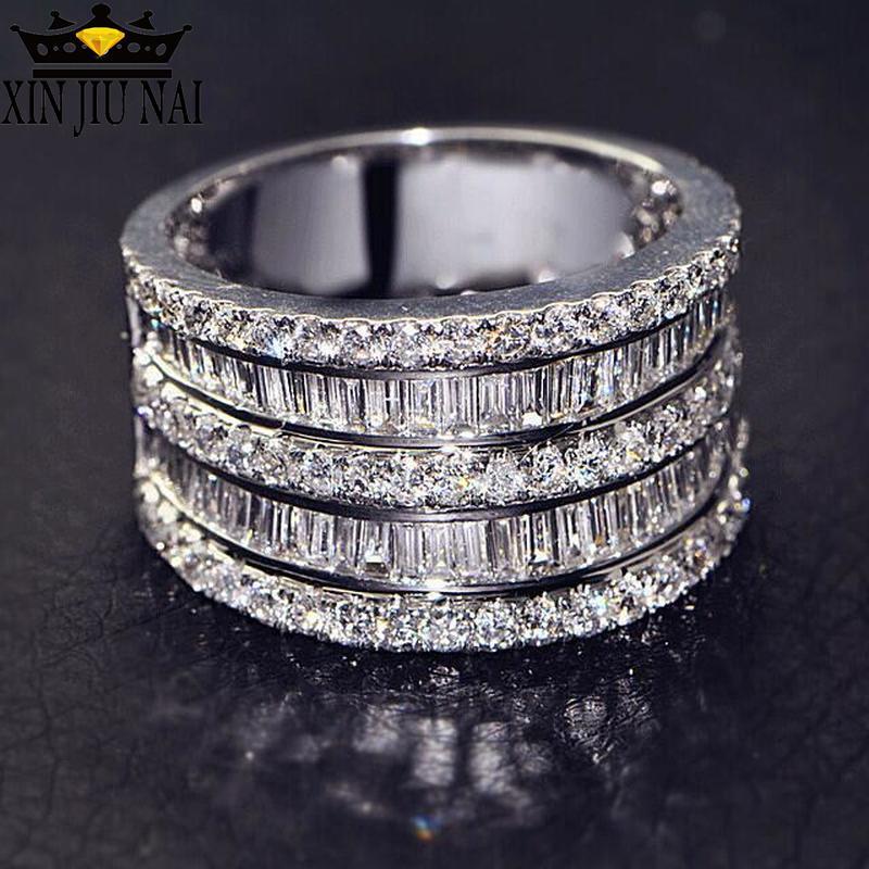 Luxury Creative Black Diamond Ring for Women Ladies Love Hollow Wedding Engagement Jewelry Gift Under 5 Dollar