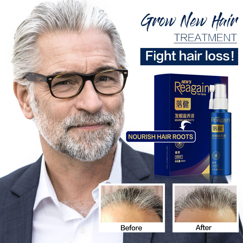 Anti Hair Loss Nourishing Essence Spray Natural Extract Relieve Hair Loss and Strongen Roots Nourish Scalp Thicken Hair 60ml