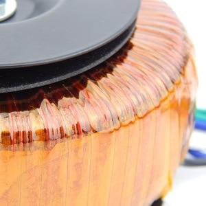 Image 4 - HIFI audio amp copper enamel wire toroidal transformer circular transformer power amplifier transformer 120w Output 18V 22V