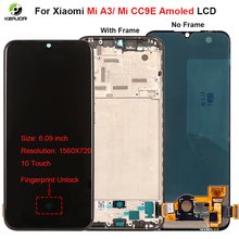 """6.09"""" Display For Xiaomi Mi A3 LCD Display Touch Screen Digitizer Replacement Parts Amoled LCD For Xiaomi Mi CC9E Display"""