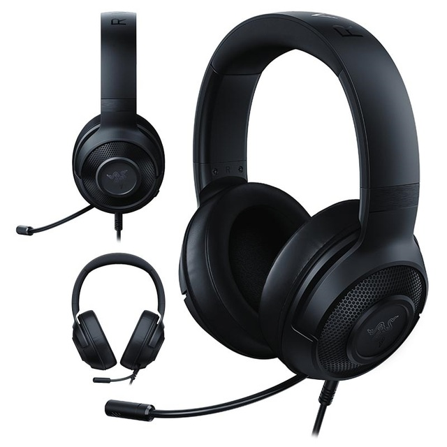 Razer Kraken X Gaming Headset 7.1 Surround Sound Ultra light Headphone, Razer Surroup Pro