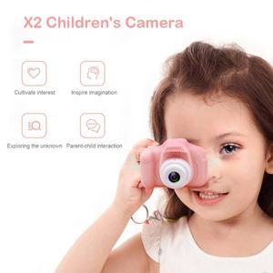 Image 4 - 1080P 720P Mini Digital Camera for Children Kids Baby Cameras Camcorder Video Child Cam Recorder Digital Camcorders Blue Pink