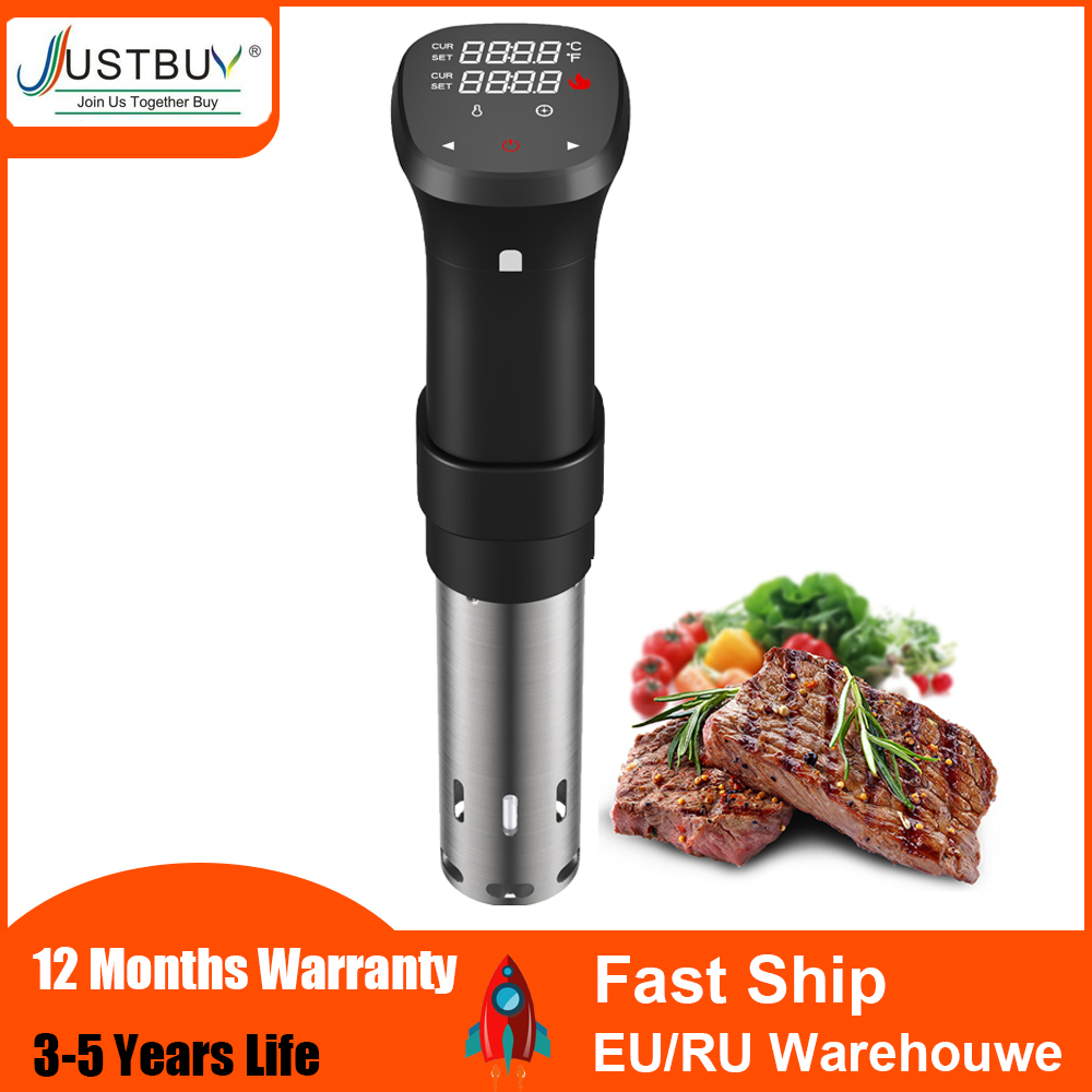 Hot sell in korea 1800W LCD Vacuum Food Sous Vide Cooker Cooking Machine Sturdy Immersion Circulator Digital Timer Slow Cooker