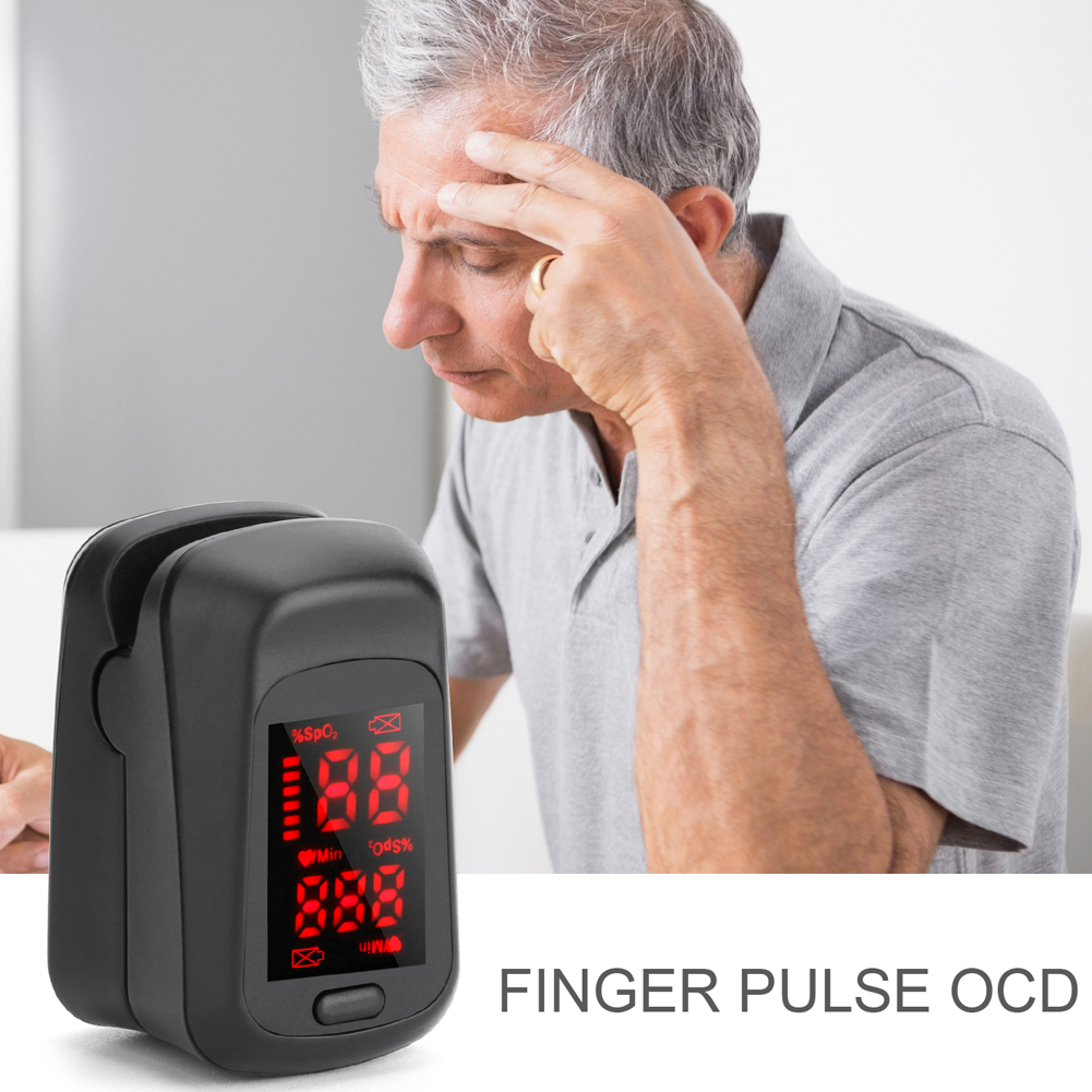 Fingertip Pulse Oximeter LED Digital Display Heath Care Measurement Oximeters YU-Home