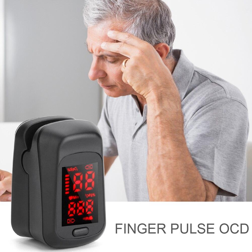 Fingertip Pulse Oximeter LED Digital Display Heath Care Measurement Oximeters YU-Home