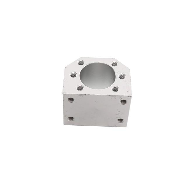 Free shipping ball nut housing bracket holder aluminium for DSG16H/12/20/25/32mm ball screw SFU1605 SFU1204 SFU2005 SFU3205 CNC