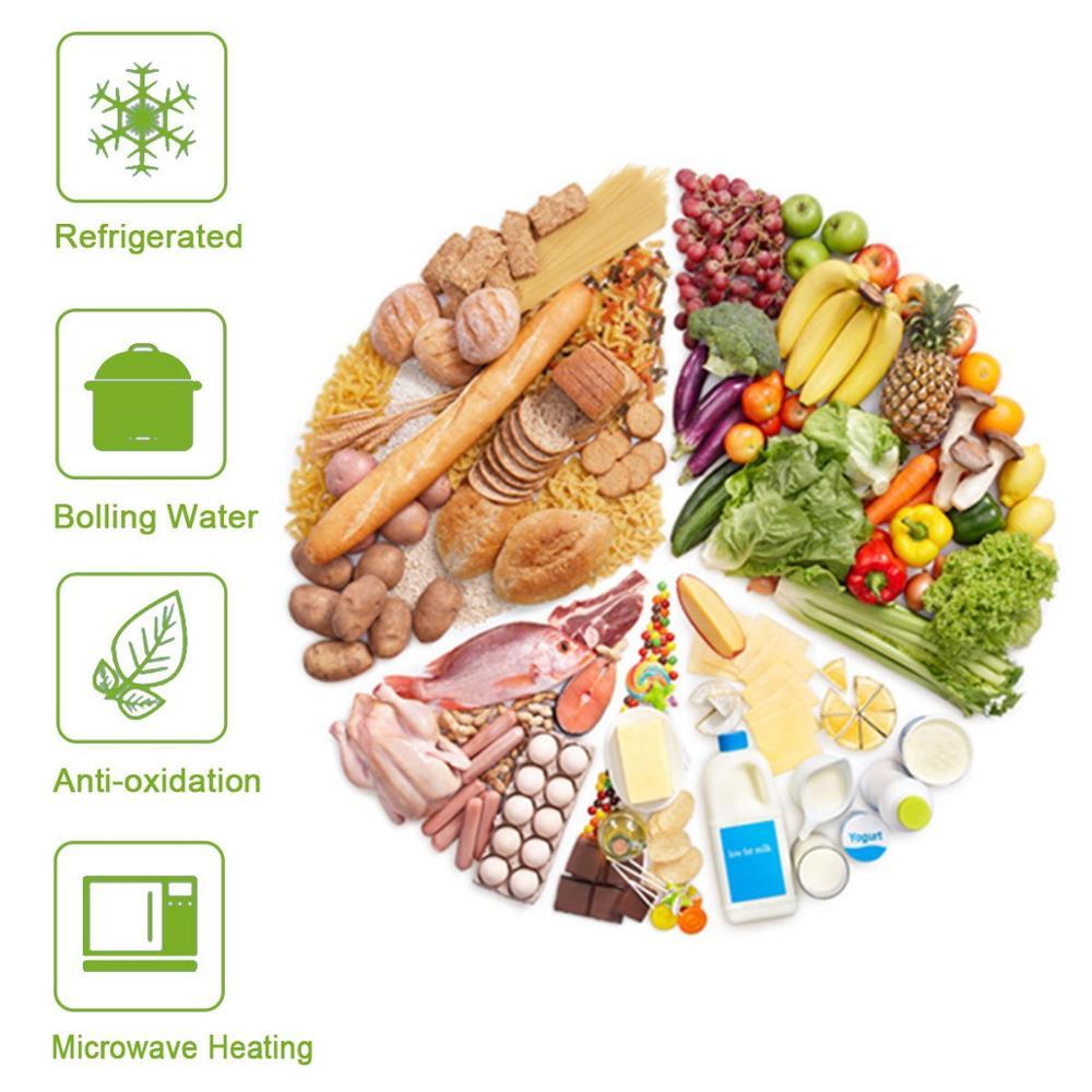 Bolsa de vacío de cocina para alimentos con bomba Bolsas de sellado - Organización y almacenamiento en la casa - foto 6