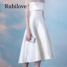 Rubilove Tube top dress female 2019 new elegant banquet ladies long slim suit