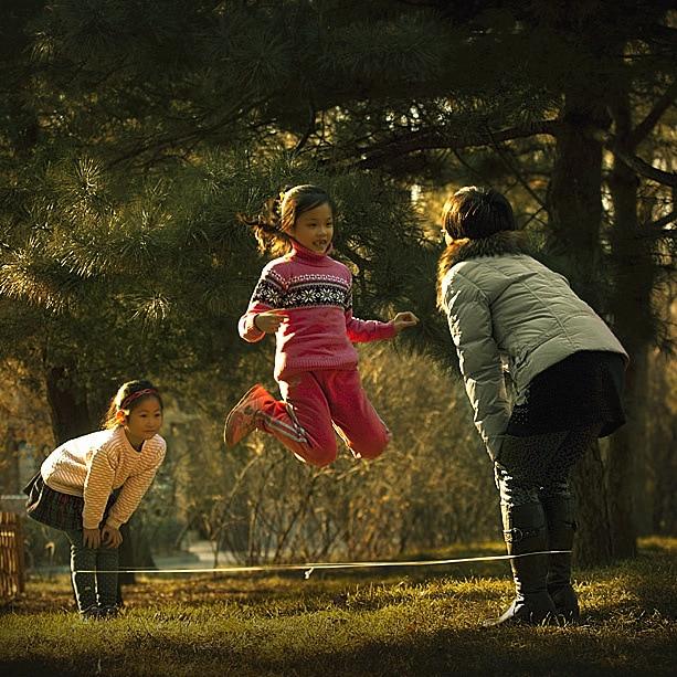 Young STUDENT'S Kindergarten Outdoor Sports Rubber Band/Children Elastic Band Jump Elastic Band Children/Elasticity Rope Jump Ro