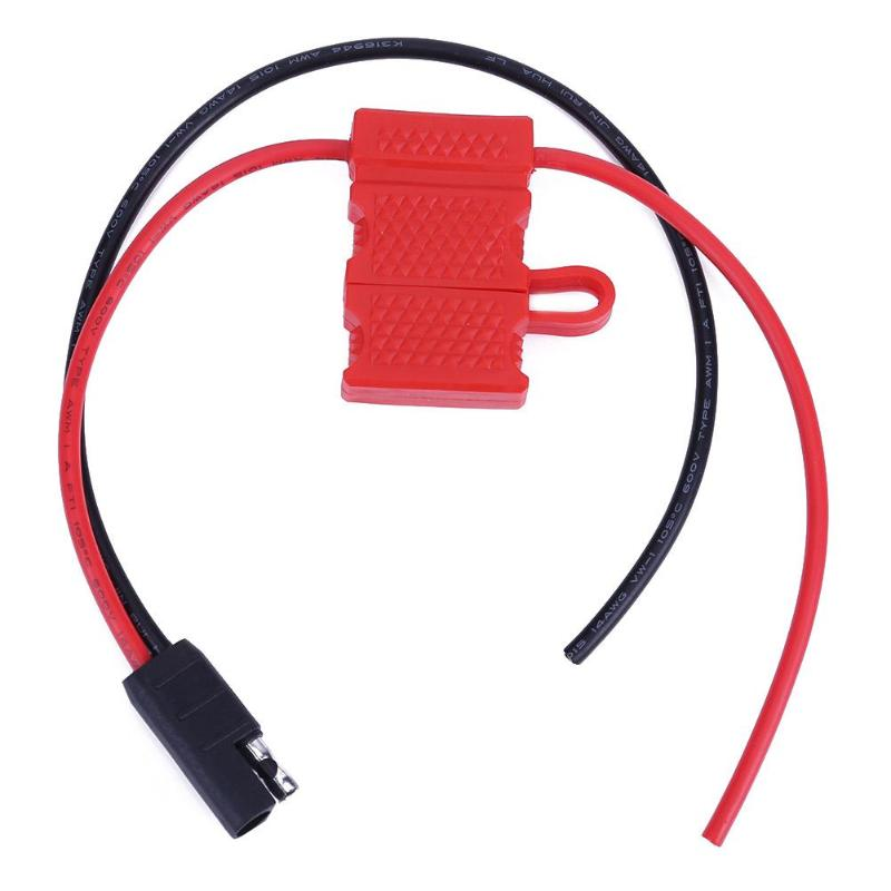 Power Cable For Motorola Mobile Radio CDM1250 GM360 CM140 With Fuse