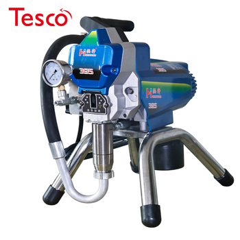 цена на Airless Paint Sprayer Machine High Pressure Electric Painting Equipment 395 with spray gun painting tool  2000W DIY paint