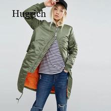 2020 Winter long coats and jackets women female coat casual military black green