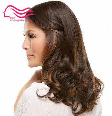Tsingtaowigs, niestandardowe wykonane europejskiej dziewiczy włosy hairslight fala koszerna peruka najlepsze Sheitels peruki darmowa wysyłka