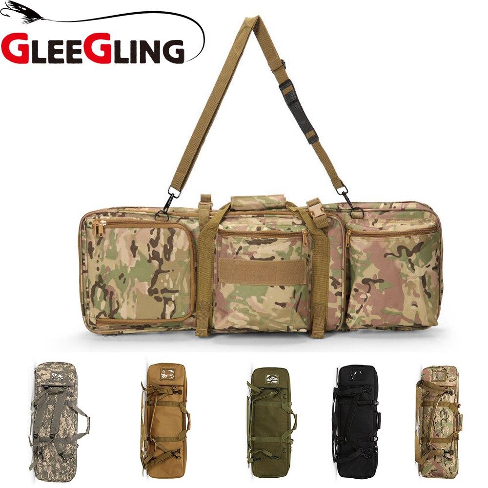 Glanant 5 couleurs sac de moulinet de pêche housse d'appât sac de pêche Hengel Foudraal sac de matériel de pêche Multiple pour cannes à pêche FLB03
