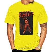 Michael Jackson Men'S Mj Thriller T-Shirt Black Homme Plus Size Tee Shirt