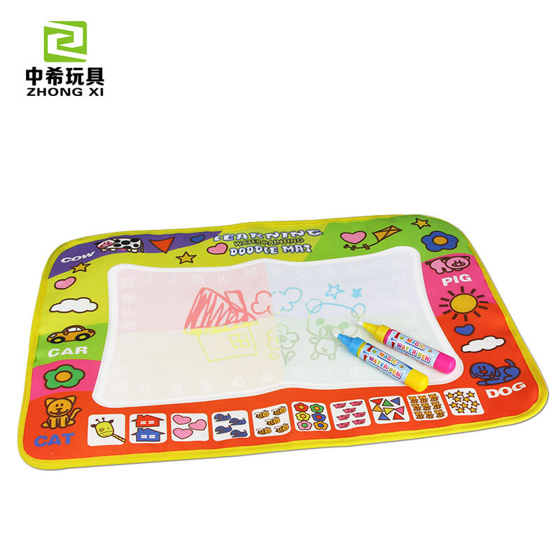 Children Coloring Cloth Water Canvas Graffiti Blanket Mom And Baby Set Baby Copying Cognitive Educational Toy