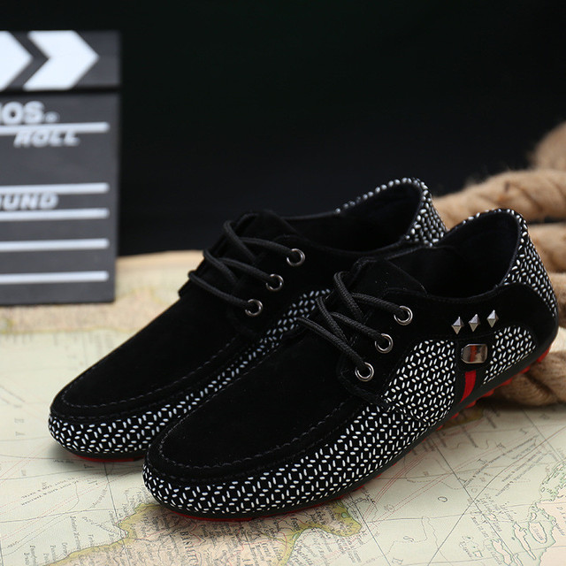 Men Shallow Casual Shoes- Loafers Moccasins  Sneakers 3
