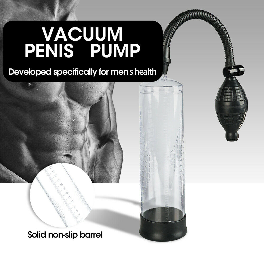 Fanssy Vacuum Penis Pump Male Men Penis Enlarger Enhancer Bigger Growth Pumps Sleeve