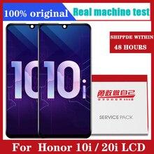 """6.21 """"LCD עבור Huawei Honor 10i LCD תצוגת Digitizer עצרת מסך מגע עם מסגרת הגלובלי גרסה לכבוד 20i LCD"""