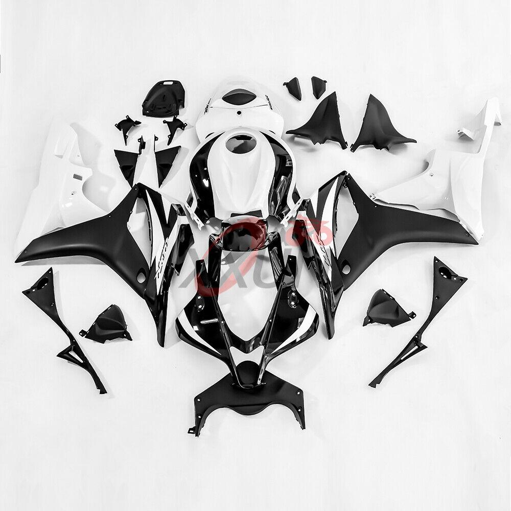 Мотоцикл Инжекционный обтекатель антиблокировочной системы комплект для Honda CBR600RR 2007 2008 CBR 600 RR F5 белые матовые черные Обтекатели Кузов формо... - 3