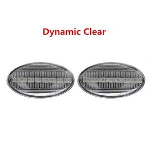 Image 4 - 2x12V lampada ripetitore laterale scorrevole LED dinamico indicatore laterale lampada pannello lampada senza errori per BMW MINI Cooper R50 R52 R53 2002 2008