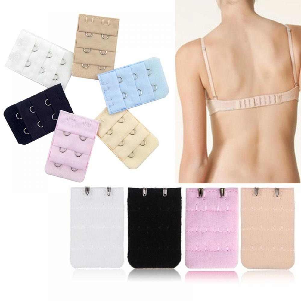 2019 חדשה חמה אופנה נשים חדש 5PCS ארבעה צבעים חזיית Extender רצועת Extention 2 ווים נשים חזיית סט אבזר CN