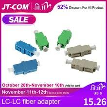 LC APC Simplex Monomodale connettore in fibra ottica FTTH fibra adattatore LC UPC SM ottica Multimodale dupex fibra optica accoppiatore