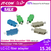 LC APC Simplex Single FTTH fiber adapter LC UPC SM optische lwl stecker Multimode dupex fibra optica koppler