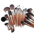 MUF Высококачественные Профессиональные кисти для макияжа, пудра, румяна, хайлайтер, основа, полировка, контур, детали