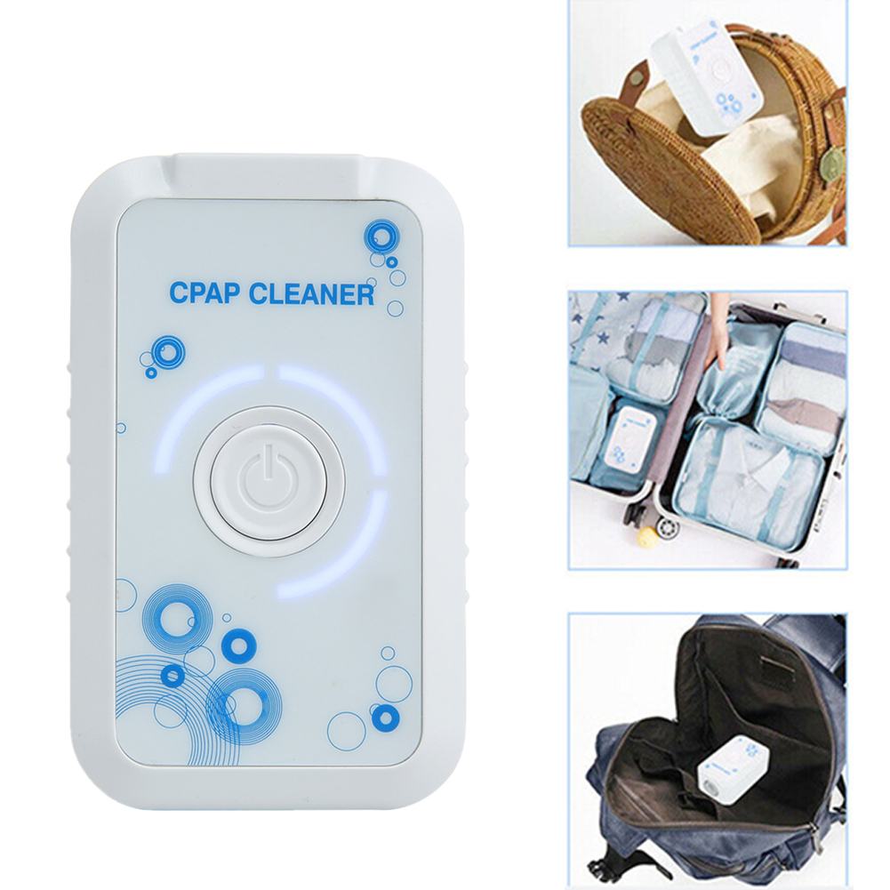 CPAP Sterilizer Anti Snoring Sleep Apnea Portable Home Sanitizer Air Clean Ventilator Ozone Disinfector USB Charging Purifier